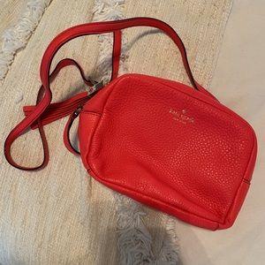 KATE SPADE coral crossbody bag